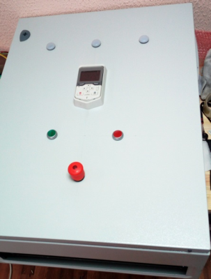 Шкаф управления частотой вращения 2