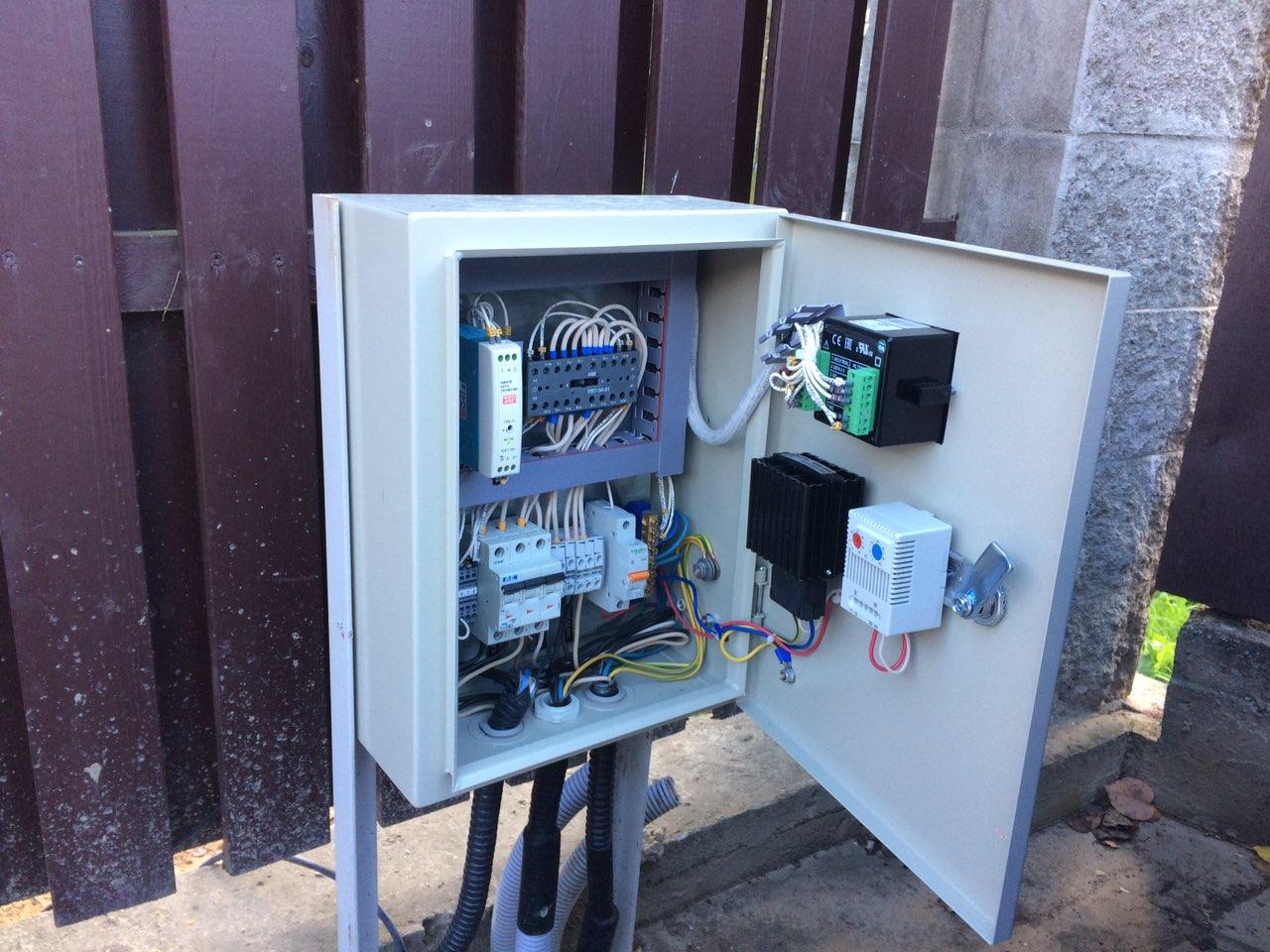 Монтаж системы автоматического запуска генератора